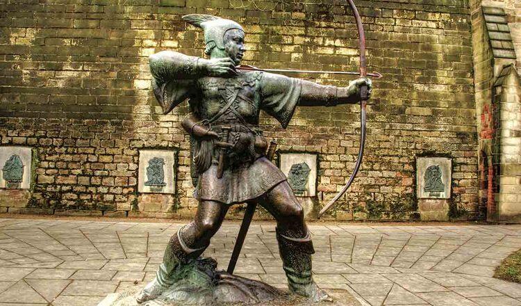 Statuia lui Robin Hood