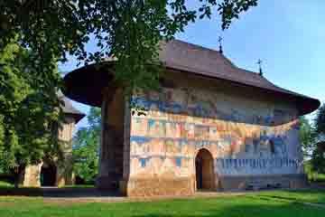 Suceava - Biserica Arbore