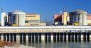 Terasa pentru turisti, construita langa centrala nucleara Cernavoda
