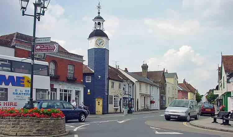 Obiective turistice Coggeshall din Anglia