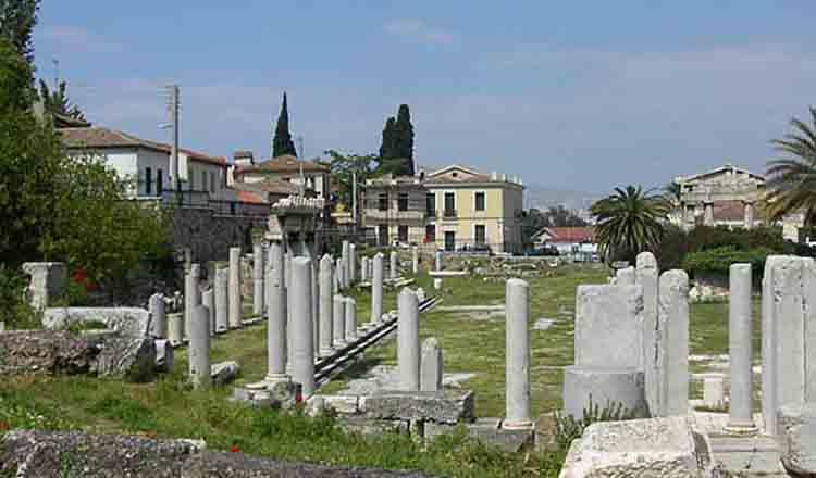 Panta de nord a Acropolelui