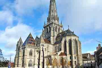 Autun - Catedrala St Lazar