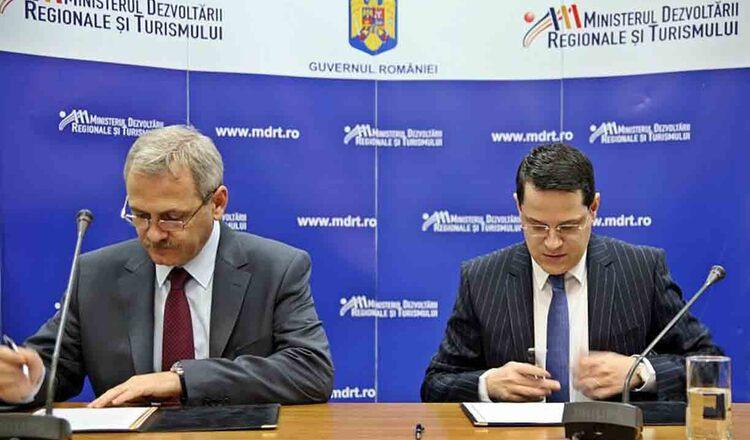 Liviu Dragnea a preluat mandatul dezvoltarii regionale