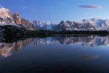 Mont Blanc - Lacurile