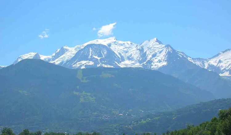 Obiective turistice Mont Blanc din Franta