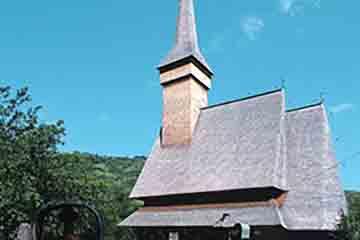 Sighetu Marmatiei - Biserica din deal Ieud