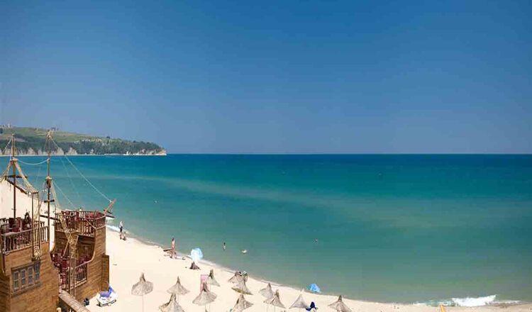 Plaja din Obzor