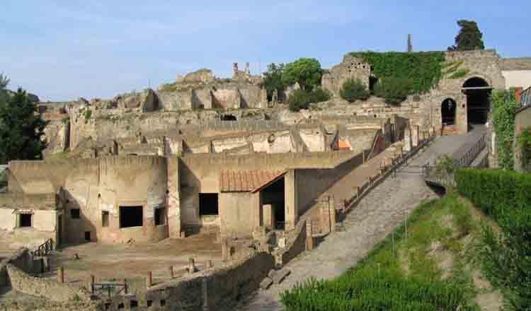 Obiective turistice Pompei din Italia