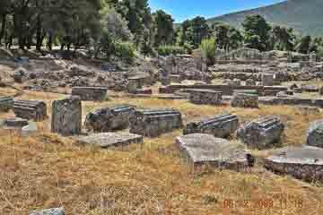 Epidavros - Plimbare prin sit