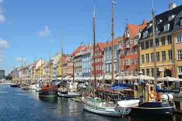 Copenhaga - Portul Nyhavn