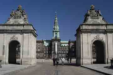 Copenhaga - Palatul Christiansborg