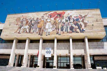 Tirana - Muzeul National de Istorie Tirana