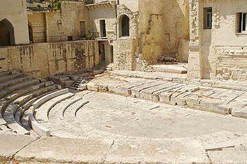 Lecce - Biserica Santa Chiara si Teatro Romano