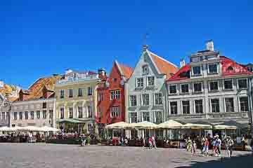 Tallinn - Piata Primariei