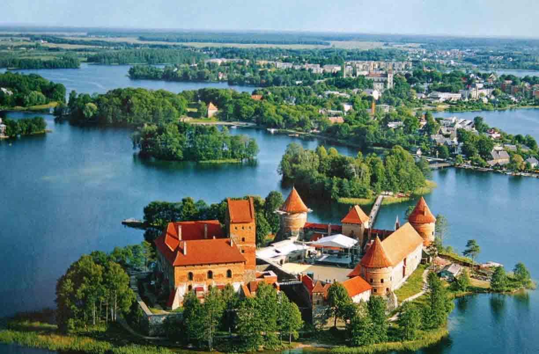 Obiective Turistice Lituania De Vizitat In Lituania Harta