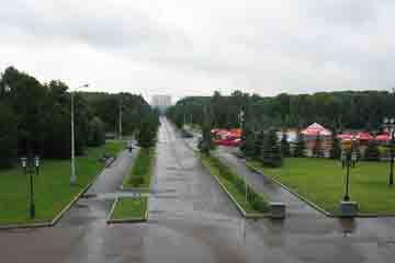 Moscova - Dealul Poklonnaya