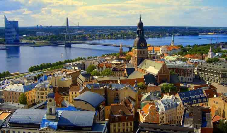 Obiective turistice Riga din Letonia