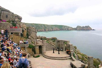 Cornwall - Teatrul Minack
