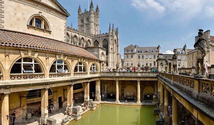 Obiective turistice Bath din Anglia