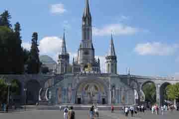 Lourdes - Basilique du Rosaire