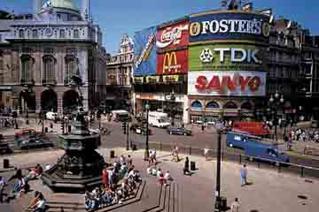 Londra - Piccadilly Circus