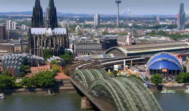 Obiective turistice Koln din Germania