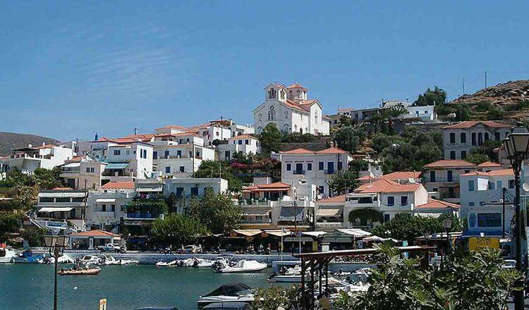 Obiective turistice Andros din Grecia