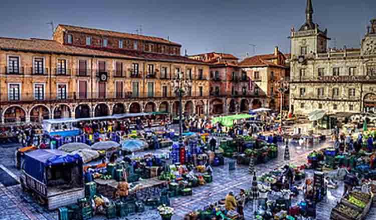 Obiective turistice Leon din Spania