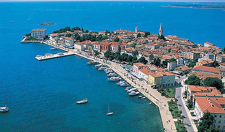 Obiective turistice Porec din Croatia