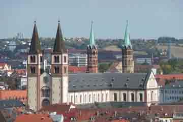 Wurzburg - Dom St Kilian