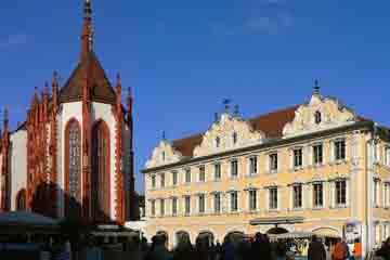 Wurzburg - Haus zum Falken