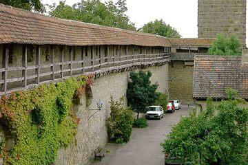 Rothenburg ob der Tauber - Stadtmauer