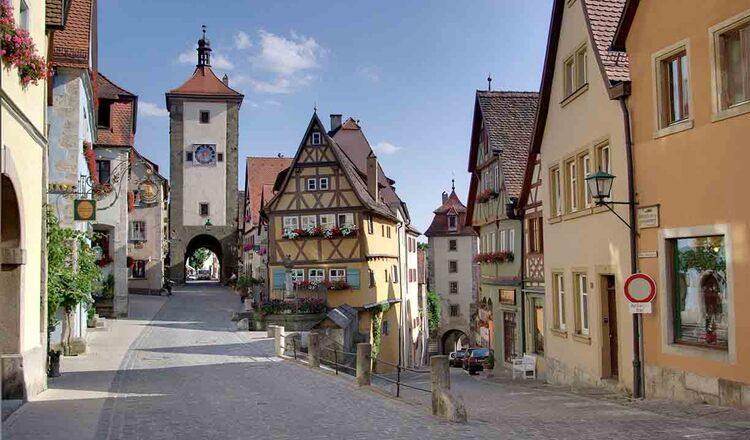 Obiective turistice Rothenburg ob der Tauber din Germania