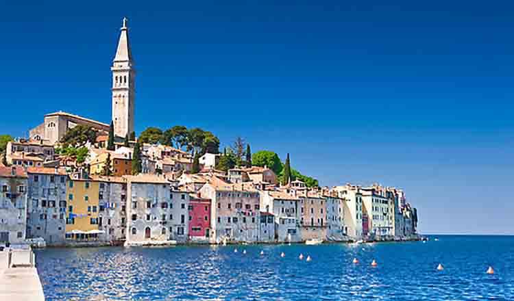 Obiective turistice Rovinj din Croatia