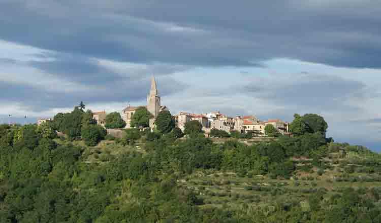 Obiective turistice Groznjan din Croatia