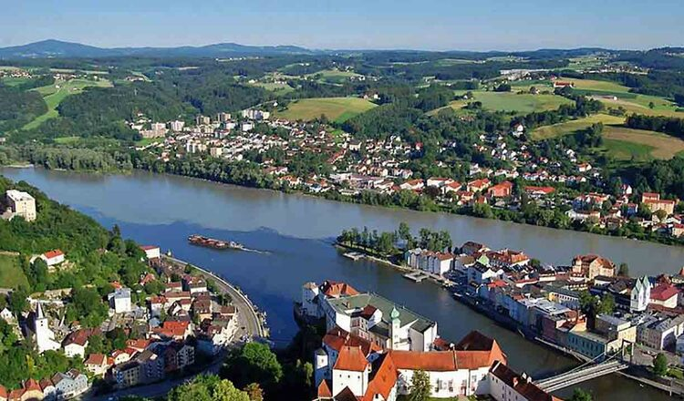 Obiective turistice Passau din Germania