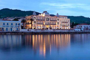 Spetses - Viata de noapte pe insula