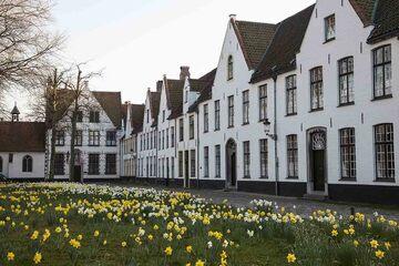 Bruges - Cartierul Begijnhof