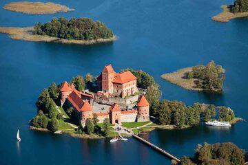 Vilnius - Castelul Trakai