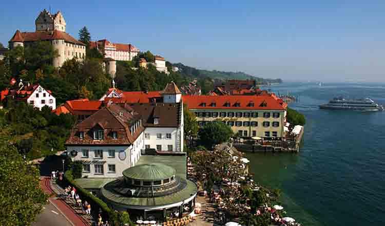 Obiective turistice Meersburg din Germania