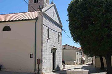 Nin - Biserica Sf. Anselm