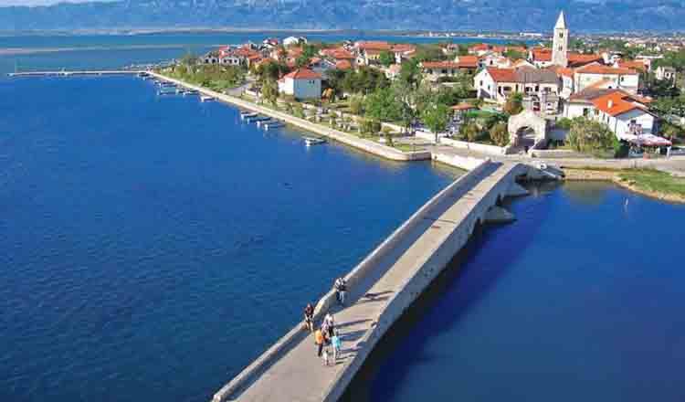 Obiective turistice Nin din Croatia