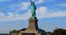 Piatra de temelie pentru Statuia Libertatii - turnata acum 130 de ani