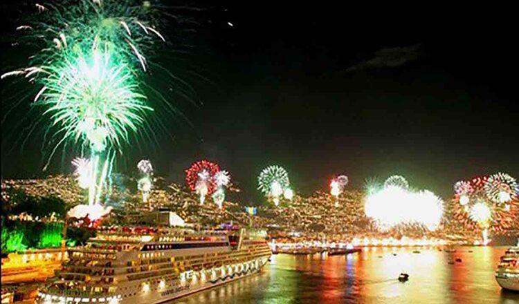 Focurile de artificii de Anul Nou