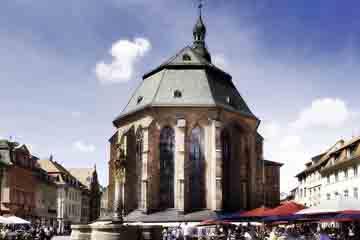Heidelberg - Biserica Sfantului Duh