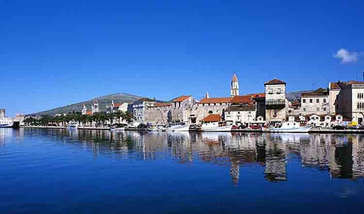 Obiective turistice Trogir din Croatia