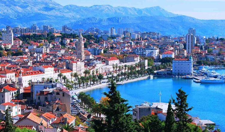 Obiective turistice Split din Croatia