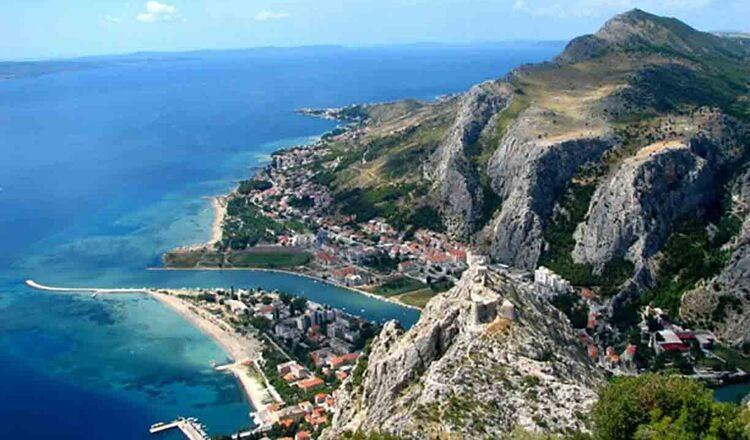 Obiective turistice Omis din Croatia