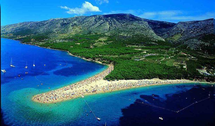 Obiective turistice Insula Brac din Croatia