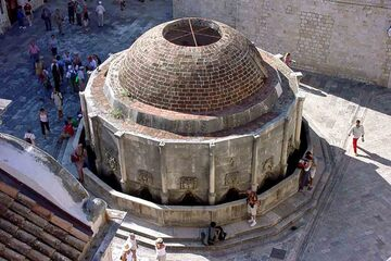 Dubrovnik - Fantana Velika Onofrijeva